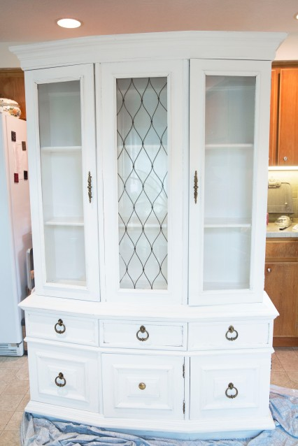 Finds and Dines Hutch Refinish 13