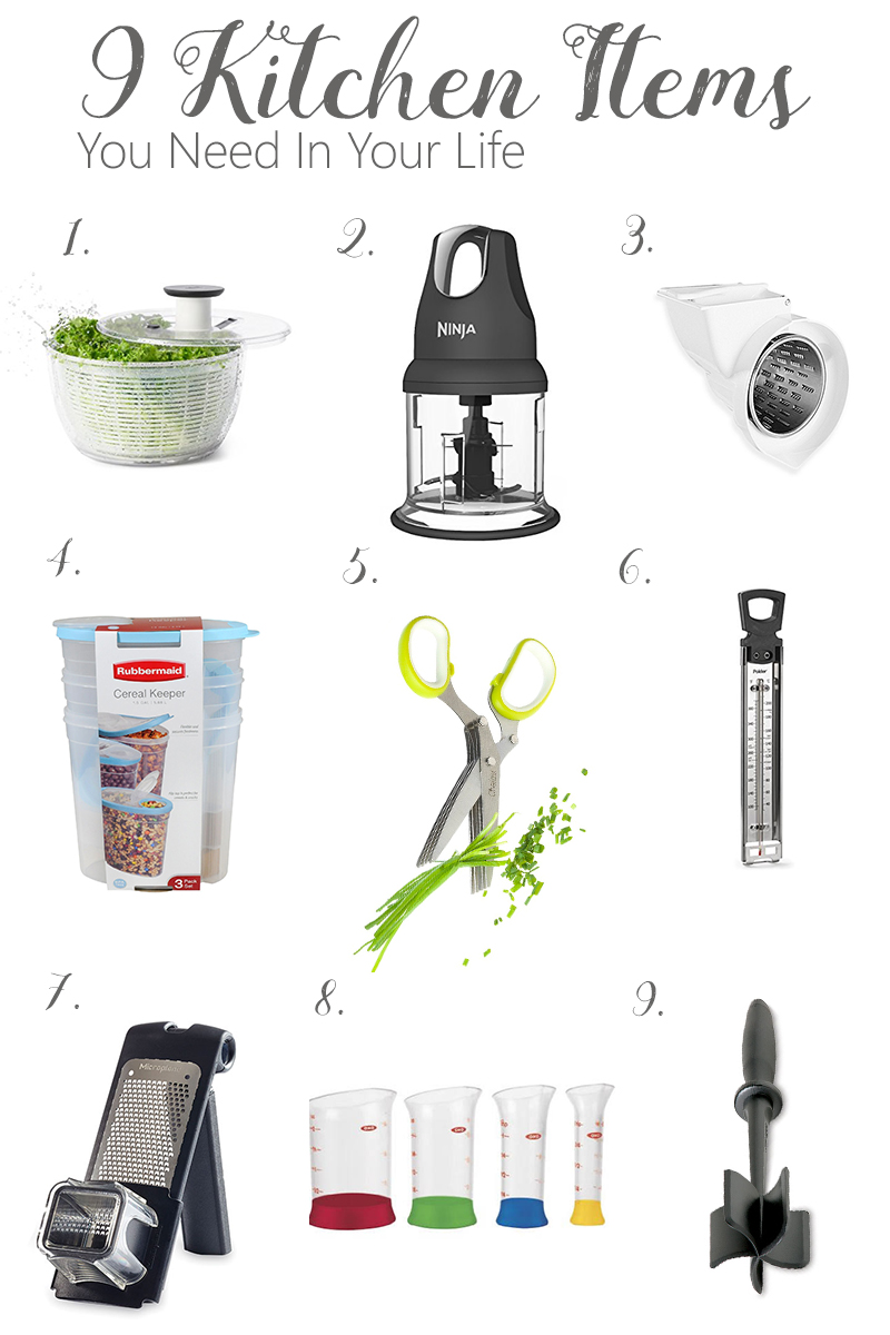 9 Kitchen Items You Need In Your Life