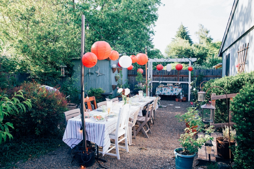 Finds and Dines Garden Party