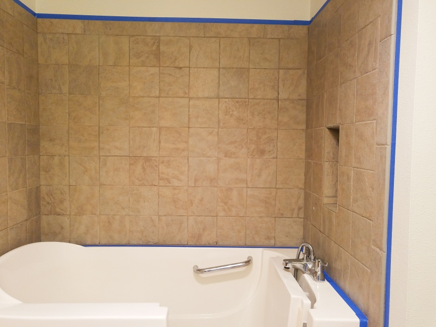 Finds and Dines Bathroom Rano Tile Refinish (4)
