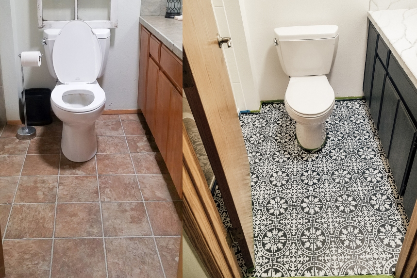 Finds and Dines DIY Bathroom Renovation Reveal 7