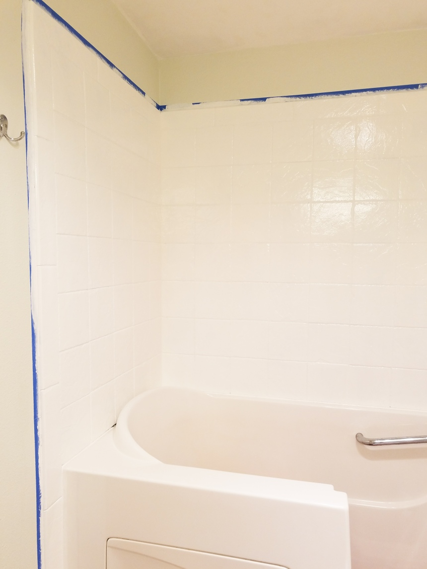 Finds and Dines Bathroom Rano Tile Refinish (5)