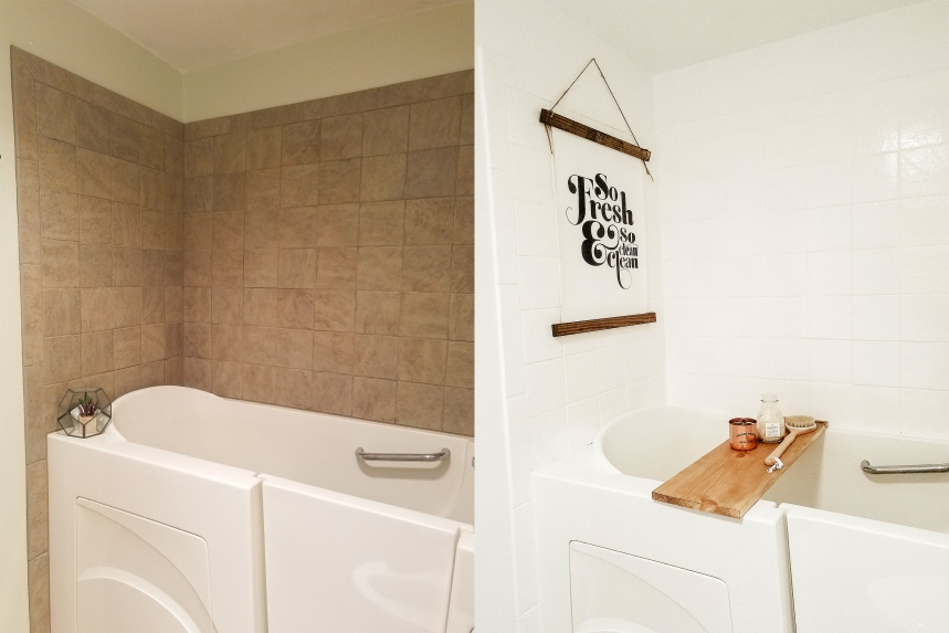 Finds and Dines DIY Bathroom Renovation Reveal 2