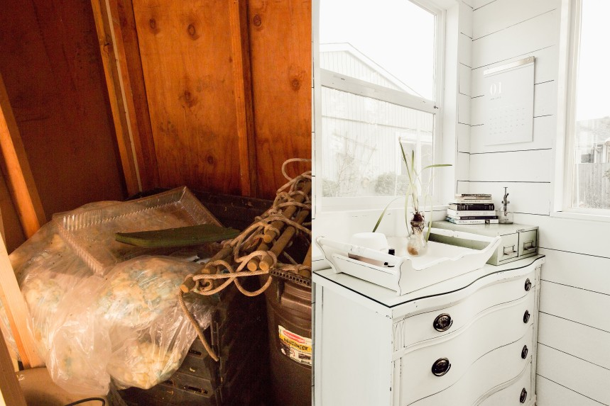 She Shed Before and After Interior 3