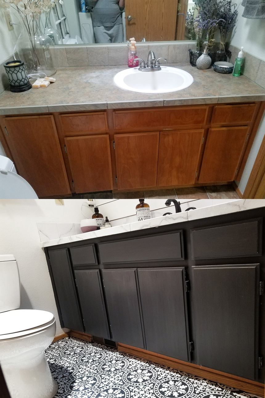Finds and Dines DIY Bathroom Renovation Reveal 6