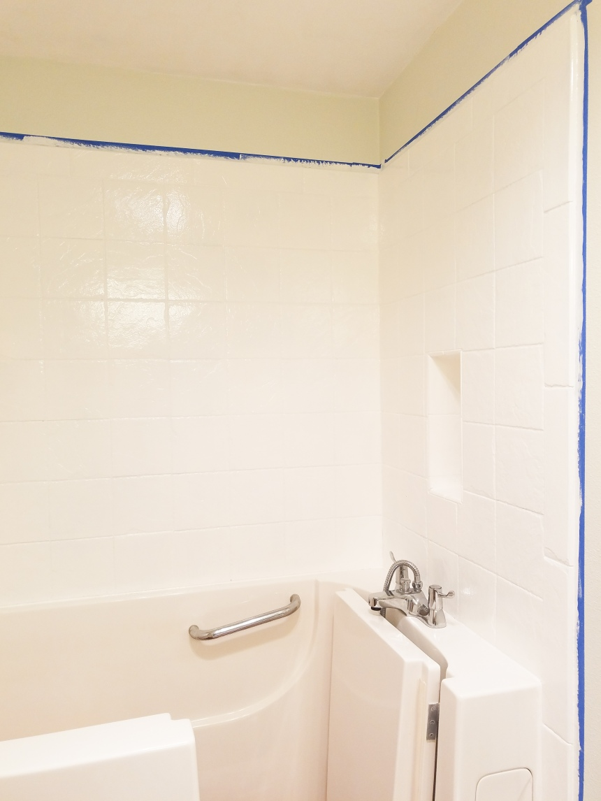 Finds and Dines Bathroom Rano Tile Refinish (6)