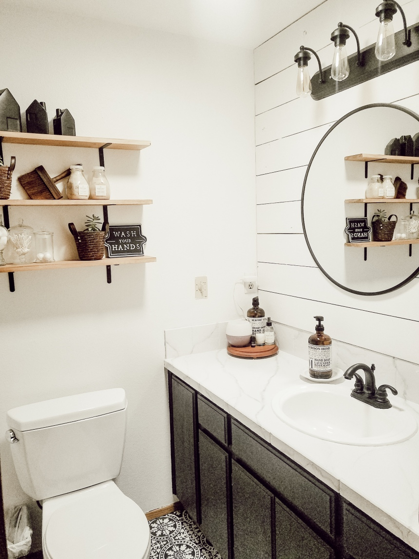 Finds and Dines Bathroom Remodel Reveal (7)